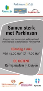 flyer congres parkinson 2 mei