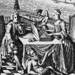 Bach en zijn vrouw Anna